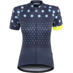 Bontrager Anara LTD Cycling SS Jersey Women Deep Dark Blue/Azure